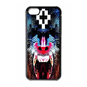 iPhone 5C Phone Case Black MARCELO BURLON WTHG1021416