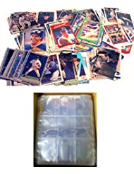 100 NEW YORK YANKEES Baseball Cards + 10 Binder Pages