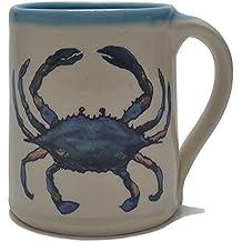 Great Bay Pottery Blue Crab Coffee Mug