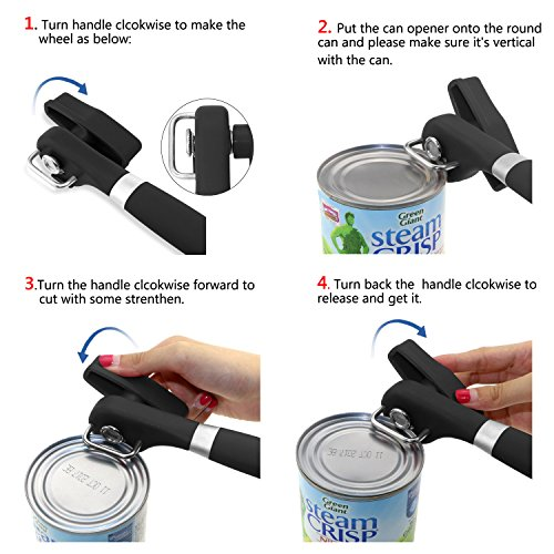 ONME Can Opener, Restaurant Manual Can Jar Open...