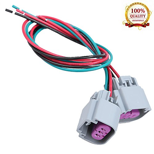 (Hoypeyfiy Wire Harness Pigtail Female Connector for Nokya 9008 H13 Nok9109 Head Light Bulb Connector Fit)