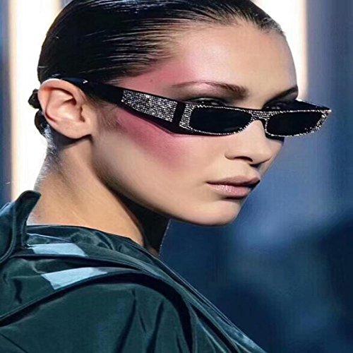 rectangulares para Gafas con Verano de Perlas C Delete de Hunpta Sol Remache Wqw8UxRRta