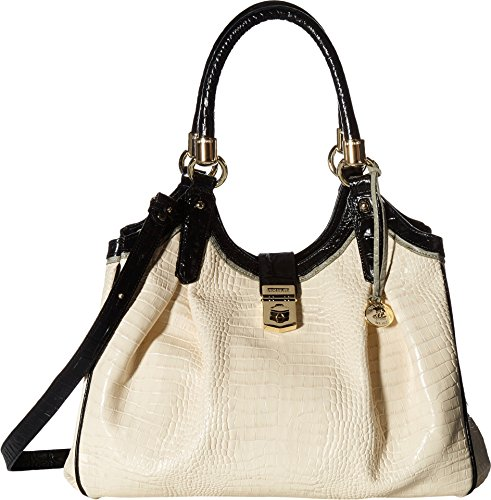 Top Ivory Elisa Handle Brahmin Bag fw50APxq