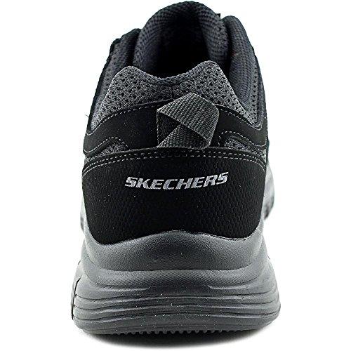 Skechers Burns-Agoura Hommes US 9.5 Noir Chaussure de Marche