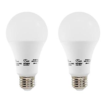 Amazon.com: euri iluminación EA21 – 2100 – 2 Bombilla LED ...