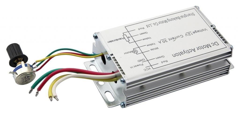 Owfeel 12V 30A DC Motor Speed Control PWM RC Controller Professional Regulator
