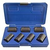 7pc 1/2' drive twist socket set / wheel lock nut remover / removal U.S.PRO AT136