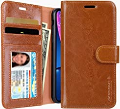iPhone XR Wallet Case, Jisoncase Leather...