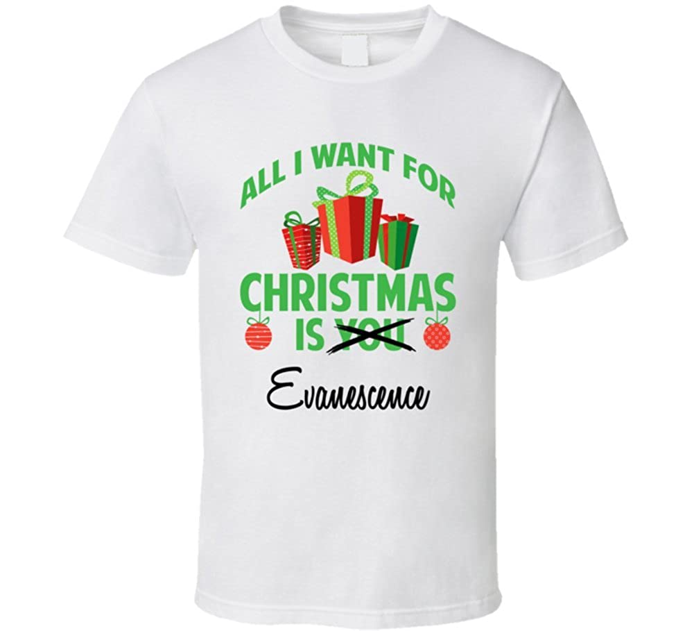 Amazon.com: All I Want for Christmas is You Evanescence Funny Xmas ...