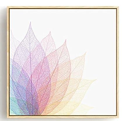Vena coroidea Patait muestras de hojas de estilo nórdico líneas de ...