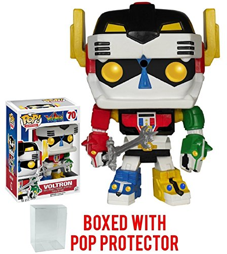Funko Pop! Animation: Voltron Defender of the Universe - Voltron #70 Vinyl Figure (Bundled with Pop BOX PROTECTOR CASE) - Japanese Animation Anime Free Ship