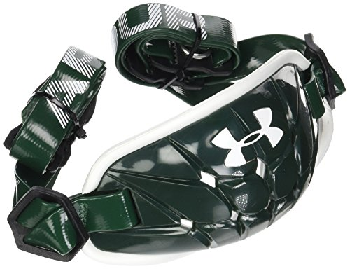 Under Armour Men's Gameday Armour Chin Strap, Forest Green (301)/White, One Size - Under Armour Game Day Green