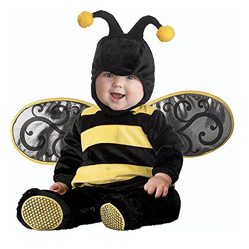 Toddler Baby Animal Bee with Wing Outfit Christmas Costume (90CM (10-12 Months)) -