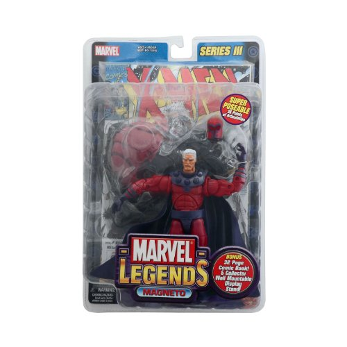Marvel Legends Series 3 Magneto Figure Toy Biz X-Men, used for sale  Delivered anywhere in USA