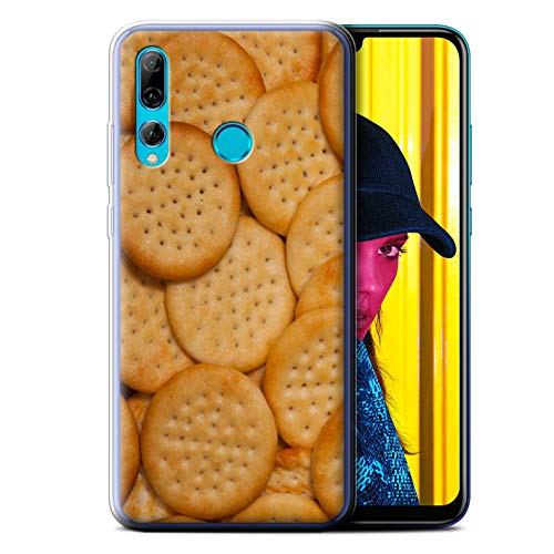 - eSwish Gel TPU Phone Case/Cover for Huawei P Smart+ 2019/Honor 20 Lite/Mini Cheddars Design/Snacks Collection