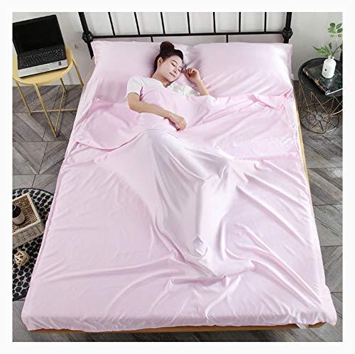 Huangjiaju 2-en-1 Suave Saco de Dormir Liner Hotel Saco de ...