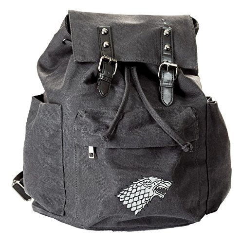 Price comparison product image Game of Thrones Canvas Backpack (Stark)