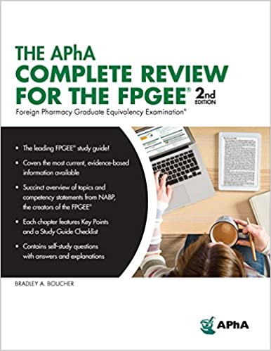 The APhA Complete Review For The FPGEE 9781582122984