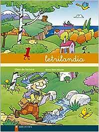 Letrilandia Libro de lectura 1 - 9788426355836: Amazon.es