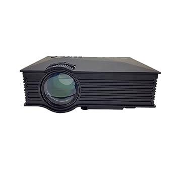 Lwj Proyector proyector portátil de 1200 lúmenes, proyector ...