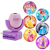 Disney Princesses Projectables LED Plug-in Night Light, Six-Image, 11738, Six Different Princess Images Project onto Wall or Ceiling