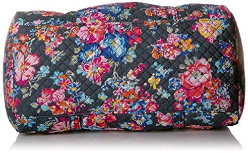 51WqIhPgCYL - Vera Bradley Iconic Large Travel Duffel, Signature Cotton, Pretty Posies