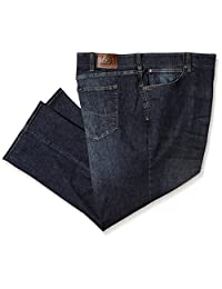 Lee Mens Big-Tall Modern Series Extreme Motion Relaxed Fit Jean Jeans