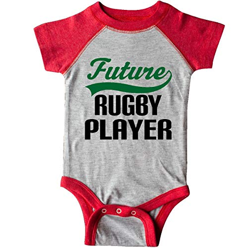 inktastic - Future Rugby Player Infant Creeper 18 Months Heather and Red 14f09