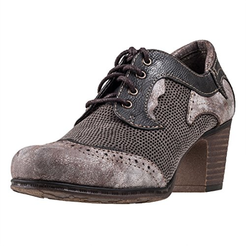 NAVY DERBY GRAU Grau 201 1258 SHOES MUSTANG fIq8wxCpt