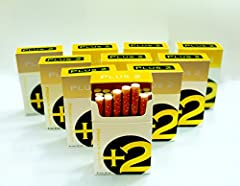 +2 Gold is a great tasting very smooth non-tobacco smoke that is free from nicotine. A mild flavor with an exceptional room note, we are sure you will enjoy the +2 smoking experience, relaxing never harsh. +2 is simply the best non-tobacco sm...