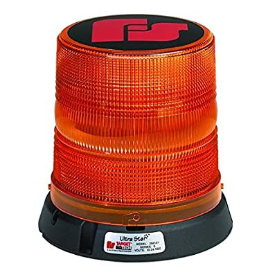 Federal Signal 250141-02 Class 1 UltraStar US5 Strobe Beacon, Magnetic Mount with Tall Dome, Amber: Automotive