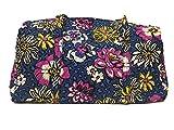 Vera Bradley Large Duffel Bag (African Violet with Violet Interior)