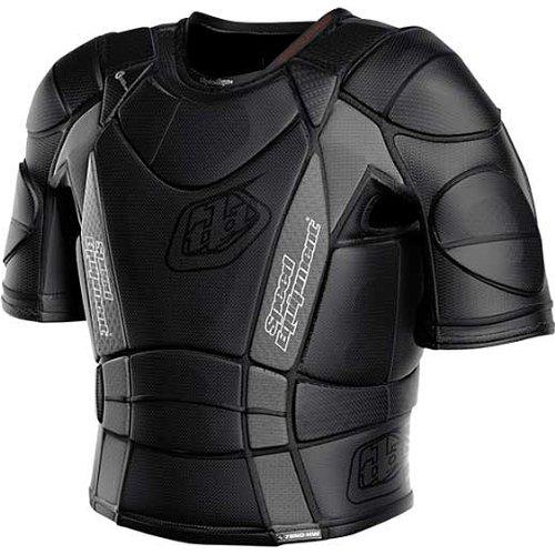 Troy Lee Designs BP 7850-HW Shirt Adult Undergarment Off-Road/Dirt Bike Motorcycle Body Armor - Black / Small