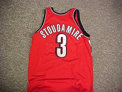 d69ed03cb Damon Stoudamire. Portland Trail Blazers Reebok Red Game Jersey at ...