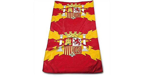 AOOEDM Toalla de Mano con Bandera de España 100% Toalla de Playa Absorbente Suave de Microfibra para baño cocina-12 x 27,5 Pulgadas: Amazon.es: Hogar