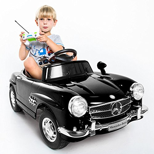 Giantex Black Mercedes Benz 300sl AMG Rc Electric Toy Kids Baby Ride on Car (Baby Electric Car compare prices)