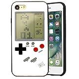 Coerni 2-in-1 Tetris Game + Phone Case for iPhone 7/7 Plus/iPhone 8/8 Plus (iPhone7 Plus-White)