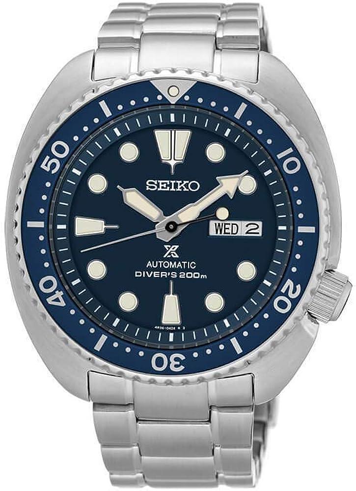 Seiko Reloj Analógico Automático para Hombre con Correa de Acero Inoxidable – SRP773K1
