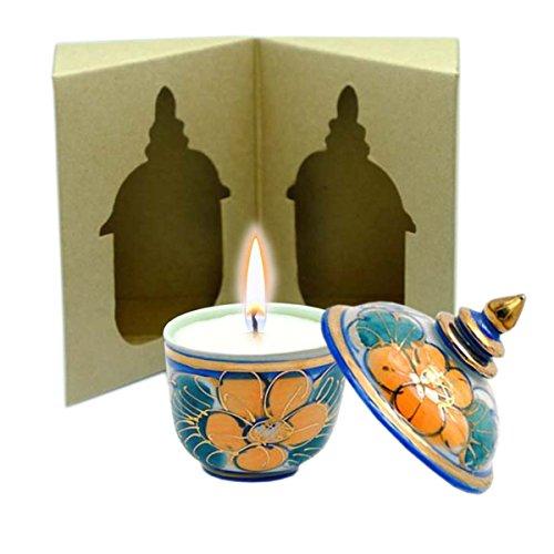 C'Lite Shea Butter Massage Candle 1.5 Oz In Thai Porcelai...