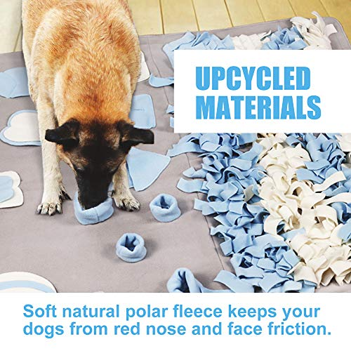 Snuffle Mat for Small Large Dogs Nosework Feeding Mat (23.6'' x 39.4'') Easy to Fill and Machine Washable Training Mats Pet Activity/Toy/Play Mat, Great for Stress Release - M by Stellaire Chern (Image #6)