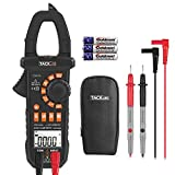 Tacklife CM01A Advanced Digital Clamp Meter 4000 Counts Auto-ranging Multimeter with AC/DC Voltage&Current