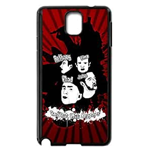 Samsung Galaxy Note 3 Black Cell Phone Case HUBYLW1242 RHCP Red Hot Chilli Peppers Phone Case Cover Back 3D
