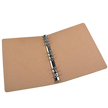 A4 Binder Carpeta vertical Piazza Sketchbook Plain Kraft ...