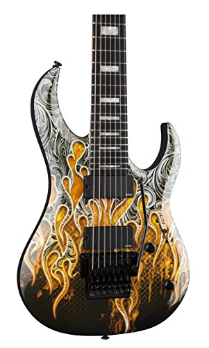 Dean Michael Angelo Batio MAB7 7-String Warrior Electric Guitar with case (MAB7)