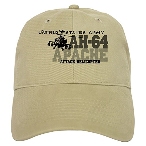 CafePress - Army Apache Helicopter Cap - Baseball Cap with Adjustable Closure, Unique Printed Baseball (Army Apache Helicopter)