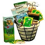 Golfing Gift Set: Golfer's Caddy Gourmet Gift Basket