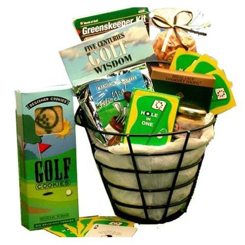 Gourmet Golfing Gift - Golfing Gift Set: Golfer's Caddy Gourmet Gift Basket