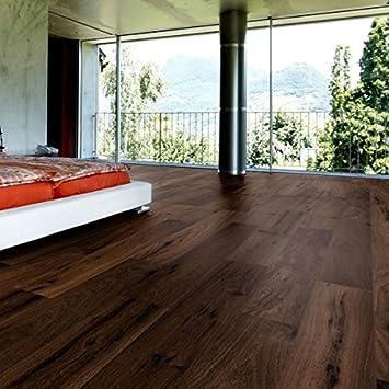 Parkett Boden Holz Eiche Gerauchert Geburstet Geolt Natur Planke A 3