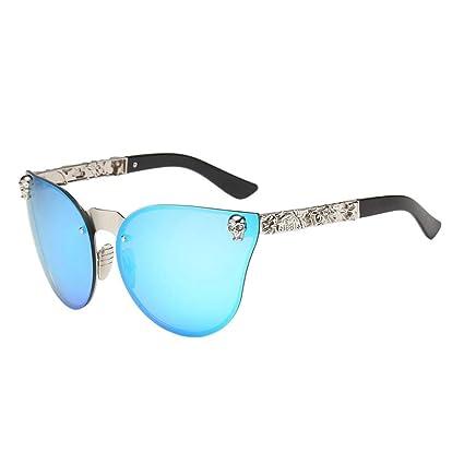 ZHRUI Gafas polarizadas Gafas de Sol para Hombres Mujeres Gafas de Seguridad Protección UV Gafas Retro