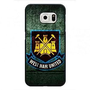 FC caja del teléfono,Team Logo caja del teléfono,West Ham United F.C. caja del teléfono,Samsung Galaxy S6Edge Funda